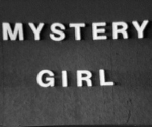girl, mystery, and txt image