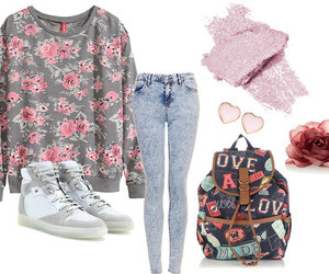 Balenciaga, flower, and look image