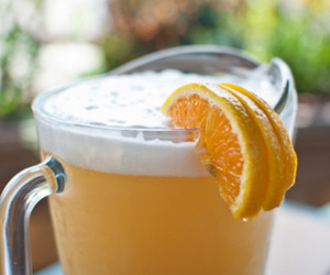 drink, orange, and delicious image