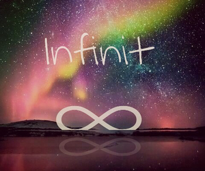 infinit, night, and sky image