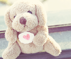 cute, heart, and love image
