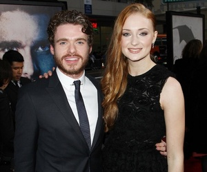 richard madden, game of thrones, and sophie turner image