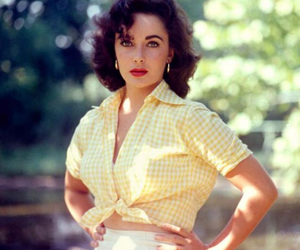 Elizabeth Taylor and actress image