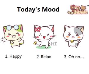 cat, happy, and kawaii image