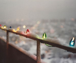 cold, light, and winter image