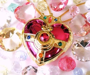 sailor moon, heart, and pink image