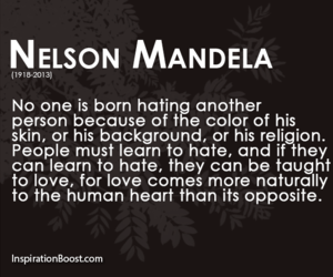 love quotes, nelson mandela, and people quotes image