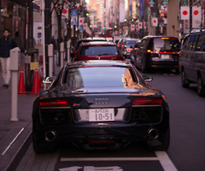 audi and r8 image