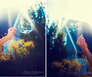 bokeh, bubble, and glam image
