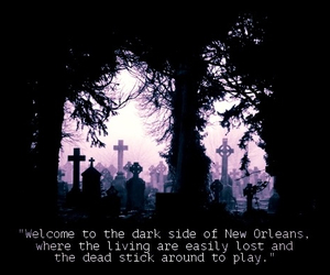 new orleans, The Originals, and vampire image