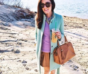 mint, preppy, and starbucks image