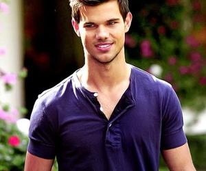 Taylor Lautner, boy, and smile image