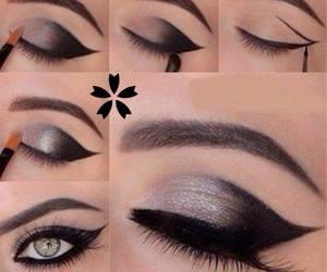 beauty, lashes, and eyes image