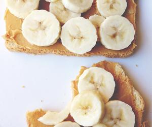 banana, food, and breakfast image