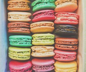 food, macaroons, and sweet image