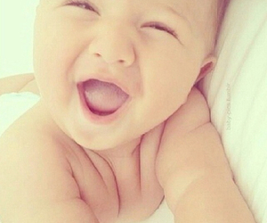 laugh, baby, and happy image