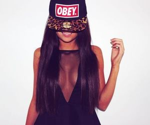 girl, obey, and sexy image