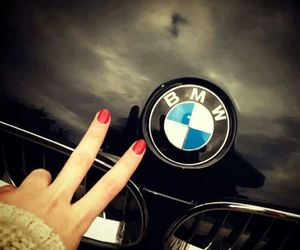 black, bmw, and nails image