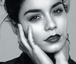 vanessa hudgens, vanessa, and black and white image