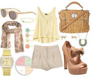 bag, basket, and beige image