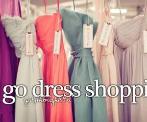 dress and shopping image