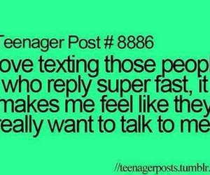 texting, quotes, and teenager post image