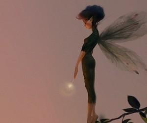 fairy, moon, and magic image
