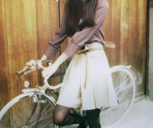 bicycle, bike, and chic image
