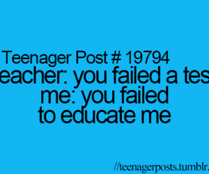teacher, teenager post, and funny image