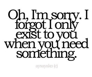 quote, text, and sorry image