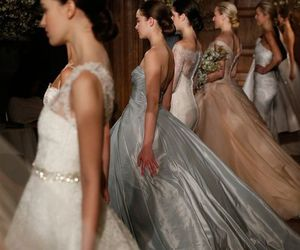 ball gown, girls, and high society image