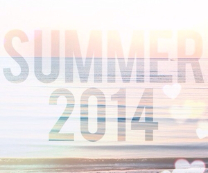 summer, 2014, and love image