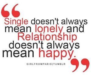 Relationship, true, and lonely image