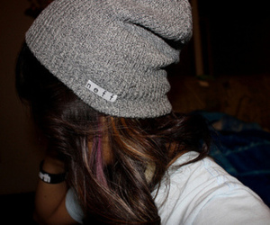 girl, hair, and neff image