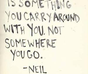 hell, quotes, and Neil Gaiman image