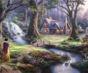 disney, nature, and princess image