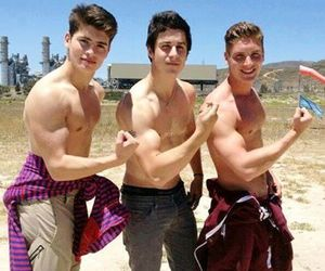 boy, david henrie, and guy image