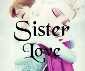 disney, frozen, and sisters image