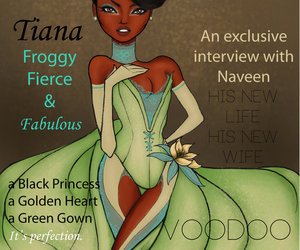 vogue, tiana, and disney image