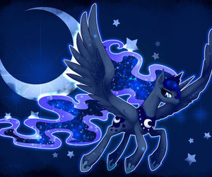 my little pony and princess luna image