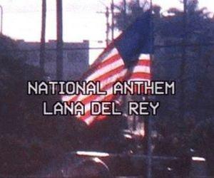lana del rey, national anthem, and grunge image