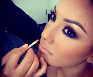 artist, makeup, and beauty image