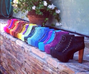 shoes, heels, and colors image