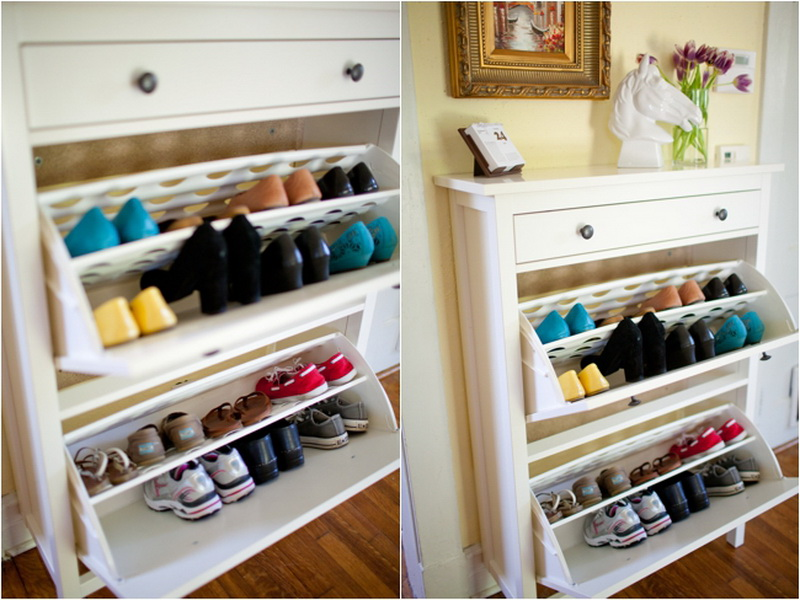 Cool And Sweet Shoe Storage Ideas Ikea Designed In Unique Design With Artful Decorating Idea Shelving Unit