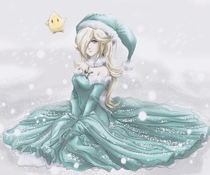 mario, mario galaxy, and rosalina image