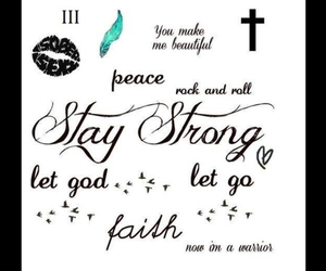 demi lovato, Tattoos, and stay strong image