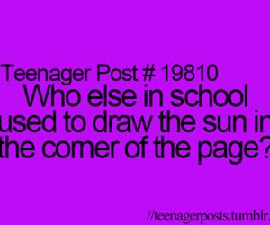 teenager post and sun image