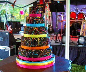 cake, fluor, and yum image