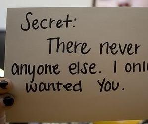 secret, true, and love image