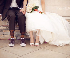 all star, bride, and couple image